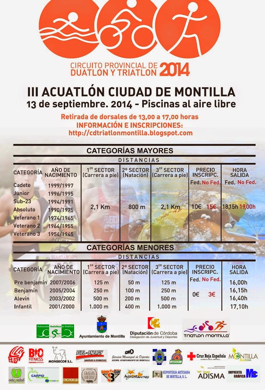 III ACUATLÓN CIUDAD DE MONTILLA