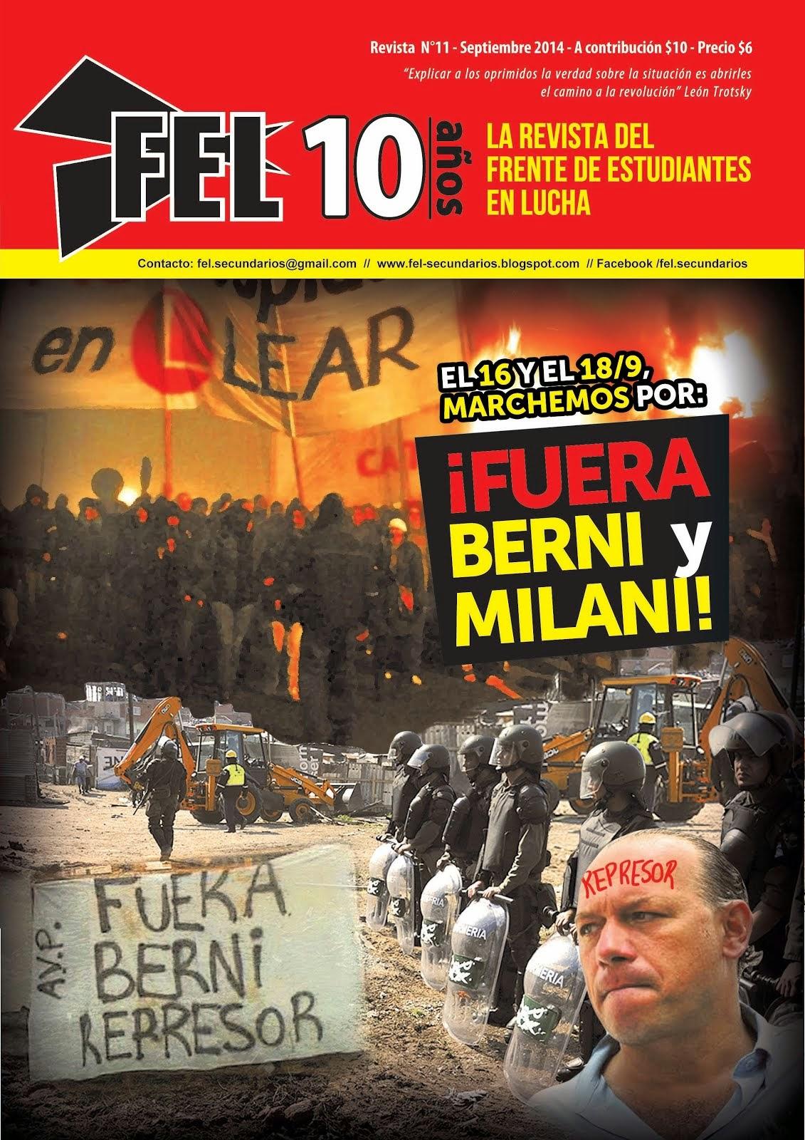 REVISTA DEL FEL N°11 - ¡FUERA BERNI Y MILANI!