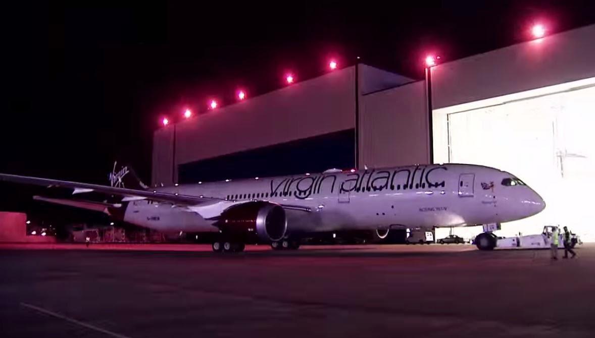 Boenig 787-9 Dreamliner Virgin Atlantic