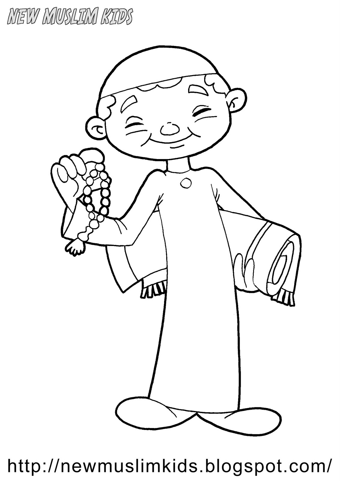 hajj ihram coloring pages - photo#43