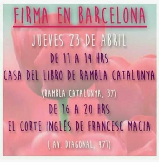 Conociendo escritores en sant jordi eating books - Casa del libro barcelona rambla catalunya ...