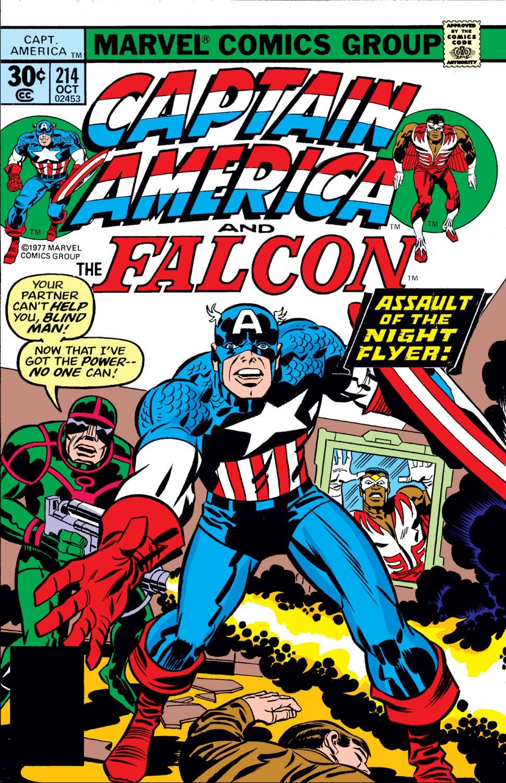 Captain America (1968) Issue #214 #128 - English 1