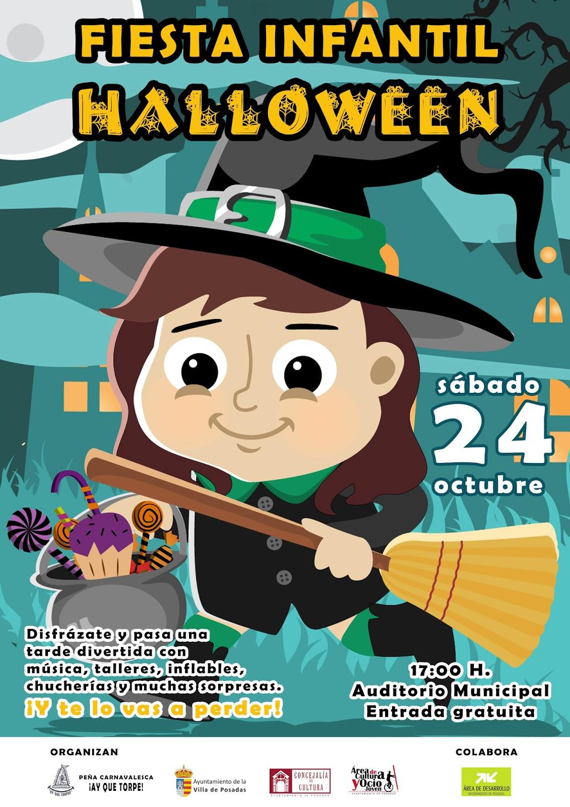 Escuela infantil antiguo colegio jes s gran fiesta - Fiesta halloween infantil ...