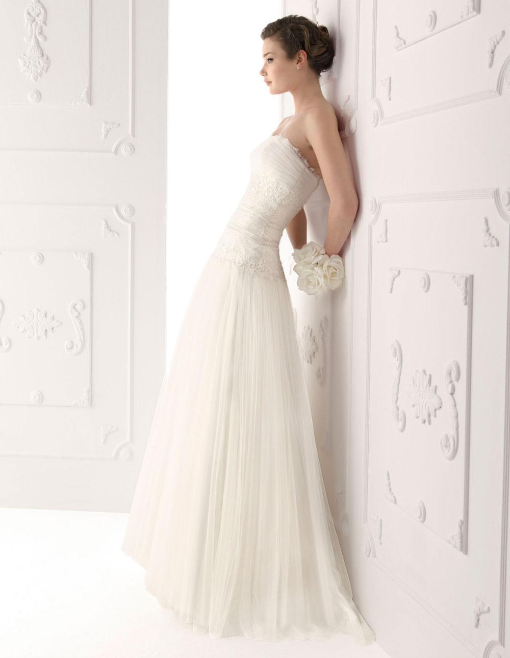 A bit of bees knees i found my wedding dress today for Alma novia wedding dress