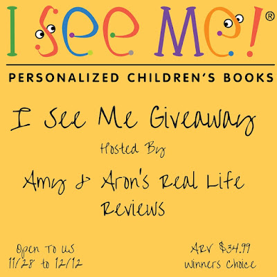 Enter the I See Me Giveaway. Ends 12/12