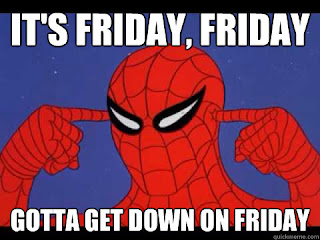 spiderman its friday