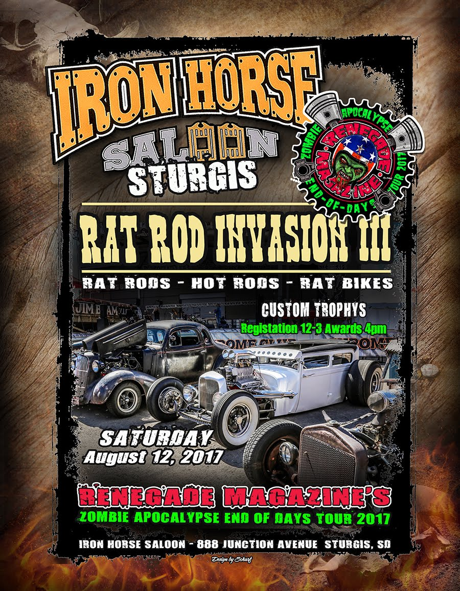 STURIS RAT ROD INVASION III