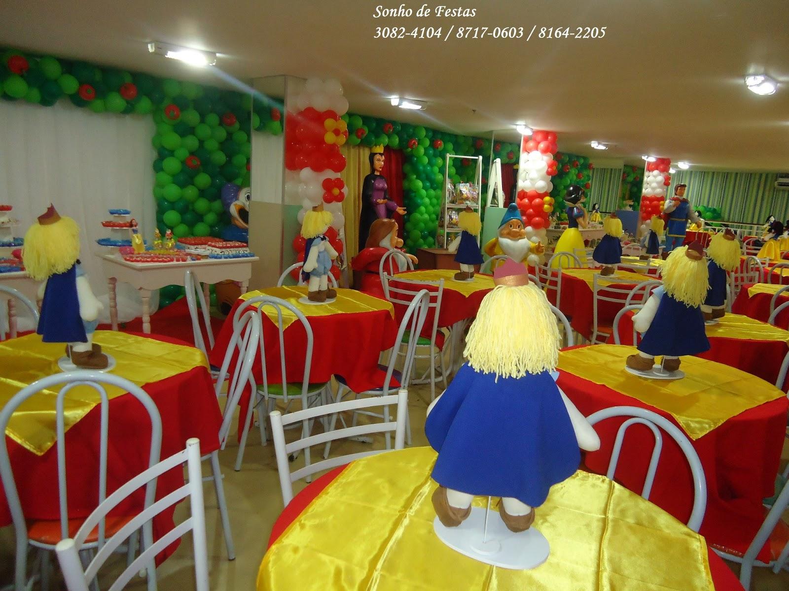 decoracao festa branca de neve provencal:Festa provençal Branca de Neve com Fibras