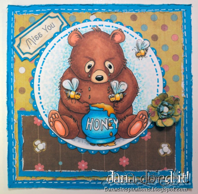 Danas Inspirations: Honey Bear