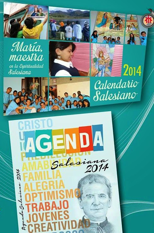 Agotado!! ALMANAQUE  y AGENDA SALESIANOS 2014