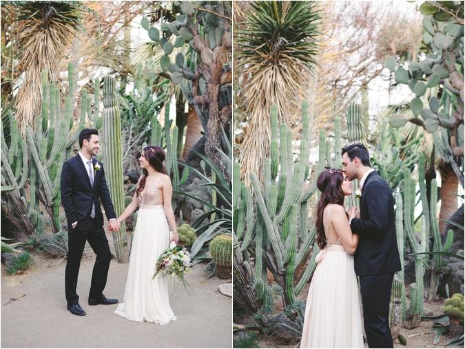 moorten botanical gardens desert inspired wedding shoot southern california wedding ideas and