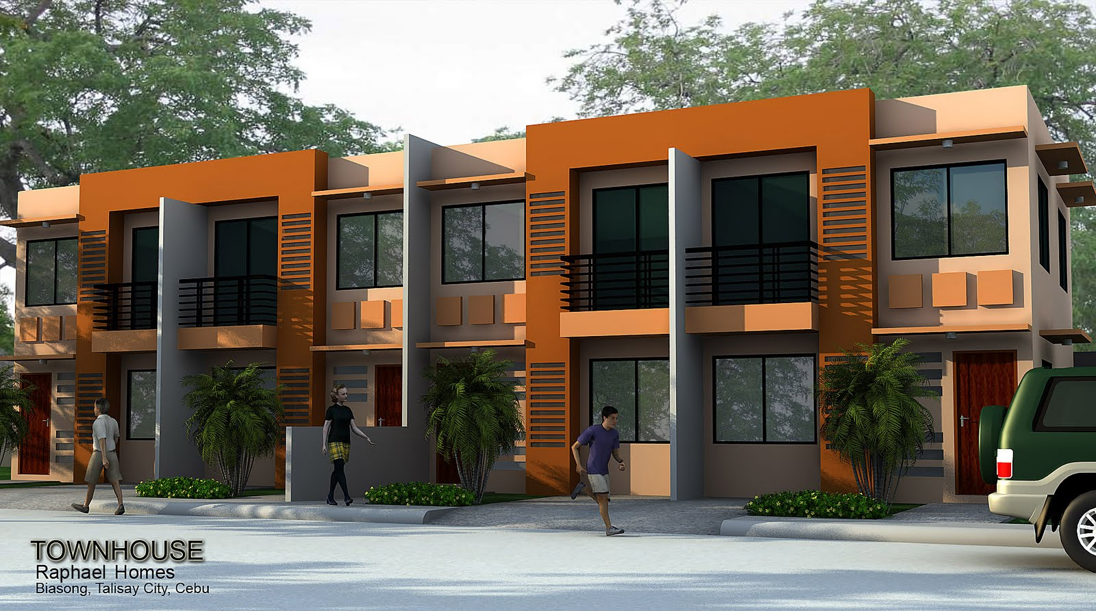 Building low cost housing joy studio design gallery for Townhouse construction cost