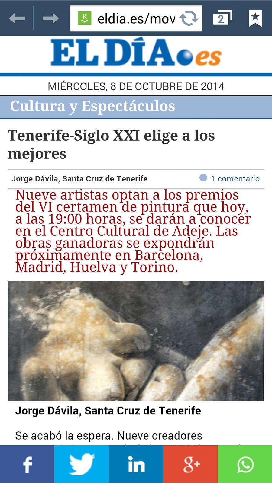 TENERIFE-SIGLOXXI 2014