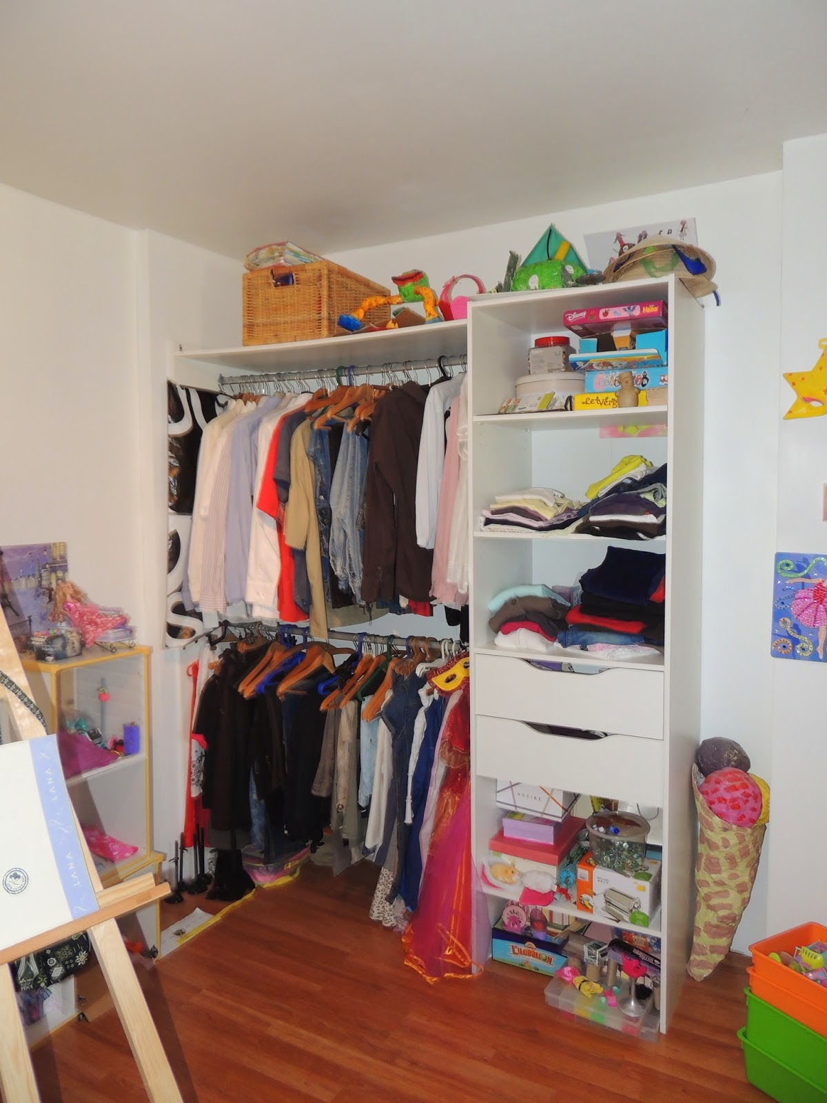chambre enfant avant home staging