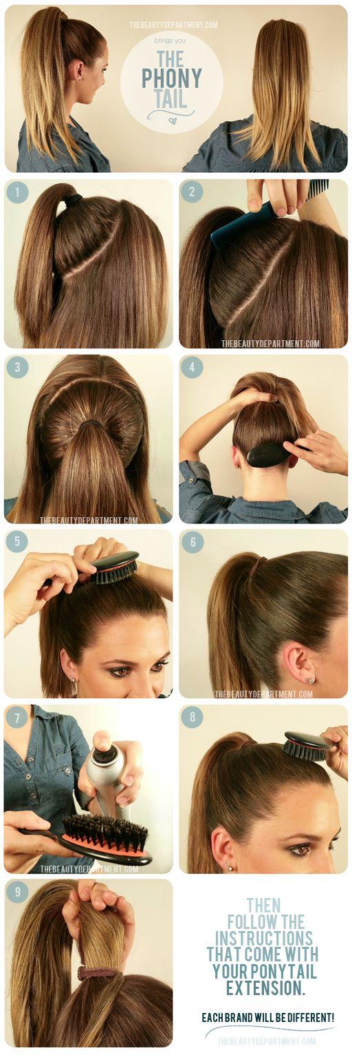 Как легко и быстро сделать прическу из длинных волос