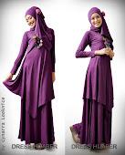 Dress Hijabers Ungu