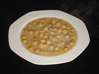 Traditional Greek Chickpea Soup - Revithia - Recipe