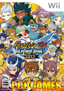 Baixar Inazuma Eleven GO Strikers 2013 Torrent WII ~ DOWNLOAD DE JOGOS