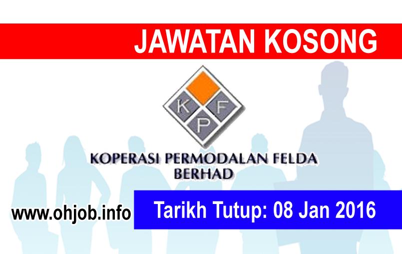 Jawatan Kerja Kosong Koperasi Permodalan Felda Malaysia Berhad logo www.ohjob.info januari 2015