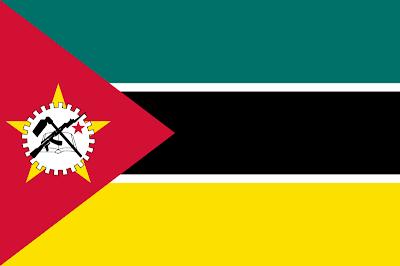 Antiga Bandeira de Moçambique (Abril a Maio de 1983)