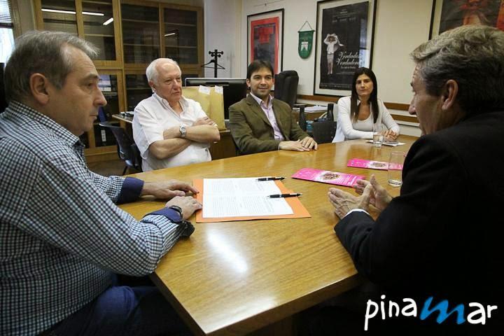 Se firmó el convenio para la realización de Pantalla Pinamar 2015