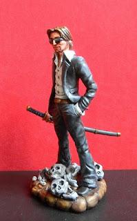 John Doe fumetto fumetti statuina orme magiche modellini statuette sculture action figure personalizzate fatta a mano