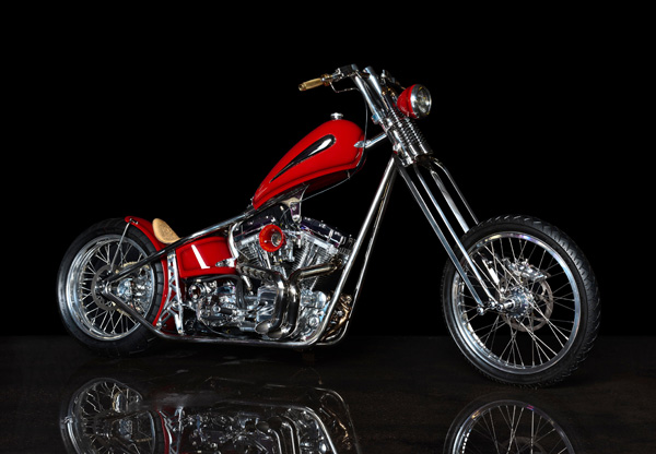 This is the 2011 Biker Build-Off result by Jesse. See blogpost of