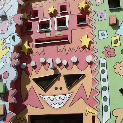 Edificios caricaturescos extraños raros