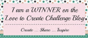 i won at love to create