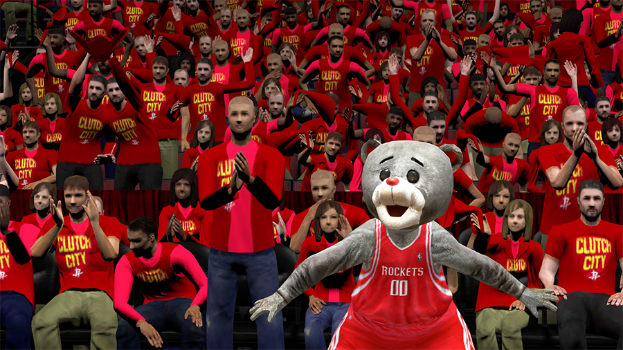 Rockets Crowd Clutch City in NBA 2K14
