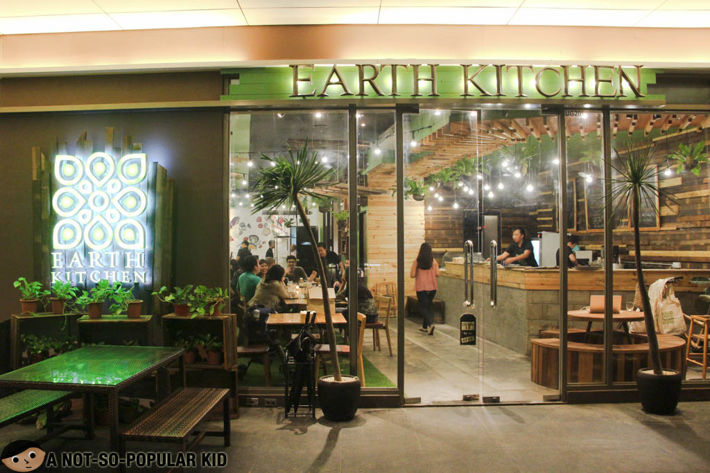 Earth Kitchen A Delectable Organic And Healthy Dining
