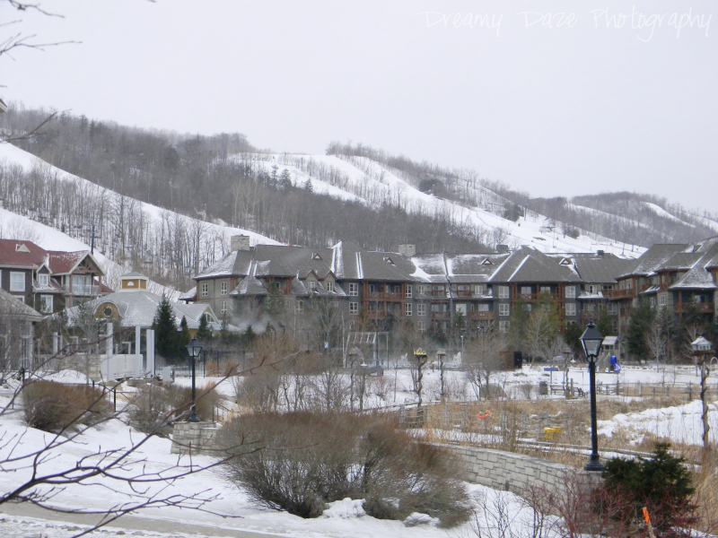 blue mountain village ontario canada travel ski resort