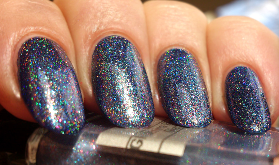 Glittering Elements Glacier Swatch