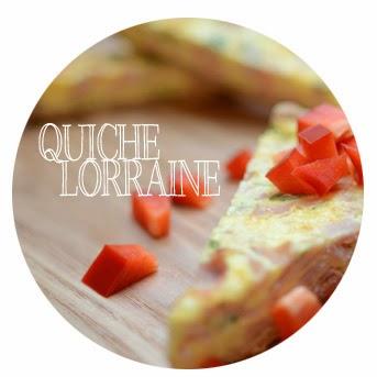 Quiche Lorraine mit Paprika
