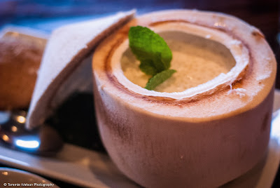 Tapioca coconut pudding