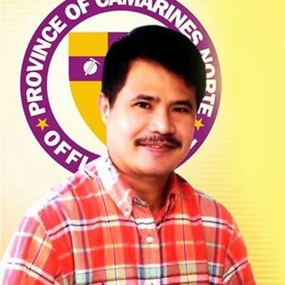 Camarines Norte Governor Edgar Tallado