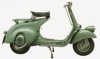 Vespayogyakarta Vespa 1950 Bacchetta Series