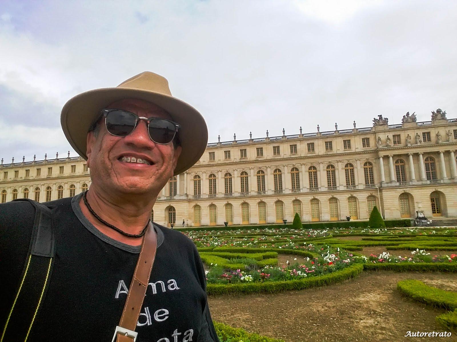CASTELOS DE VERSALHES - PARIS
