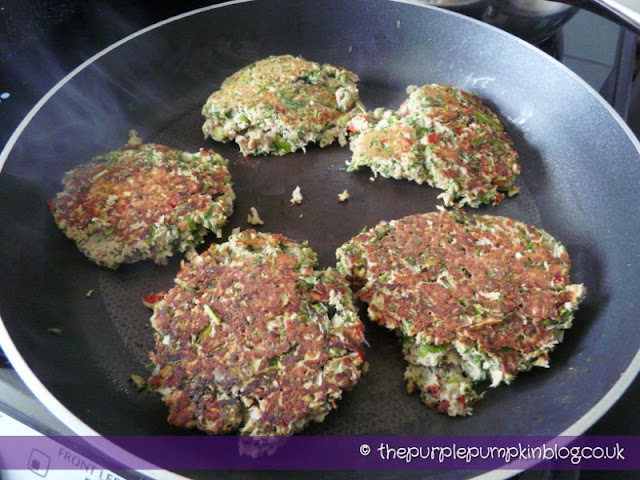 Thai Tuna Fishcakes - under 400 calories