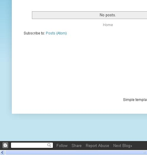 how to delete a blogger page