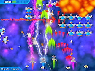 Download ChickenInvaders 3 Xmas Game Full Version