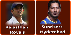 RR Vs SRH is on 22 May 2013.