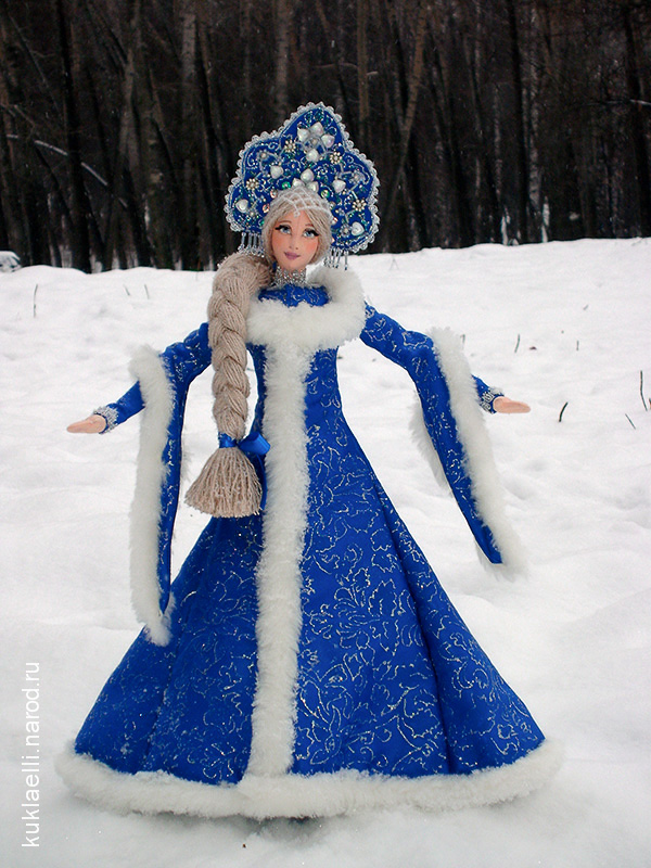 Образ снегурочки своими руками