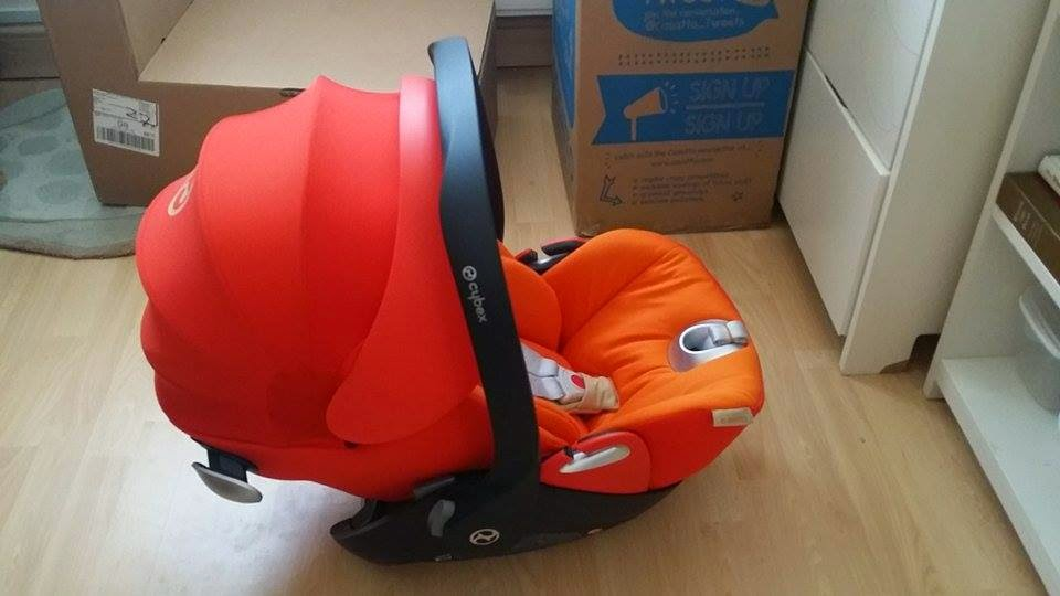 Carseat Cybex Aton Cloud Q RRP 230 Personal Rating 4 Out Of 5