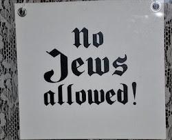 Judíos, abstenerse
