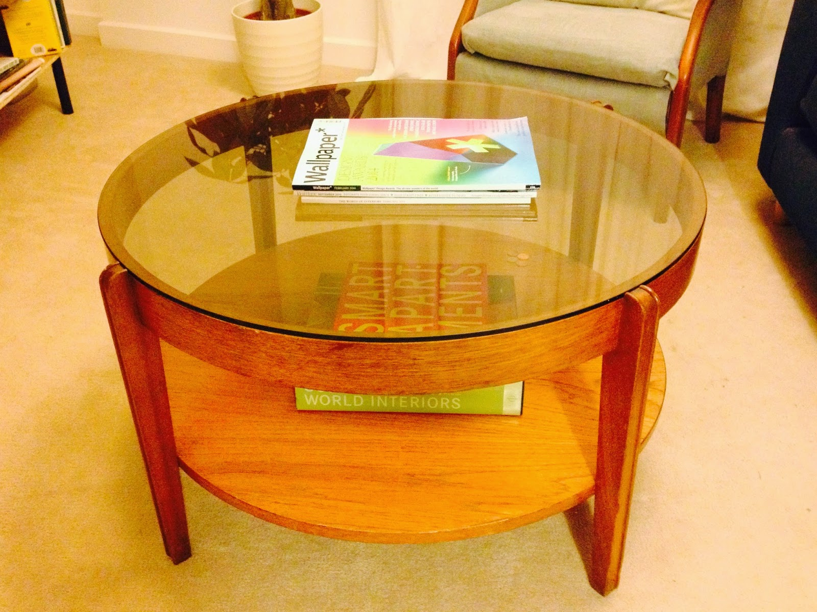 Round Retro Coffee Table Emily May