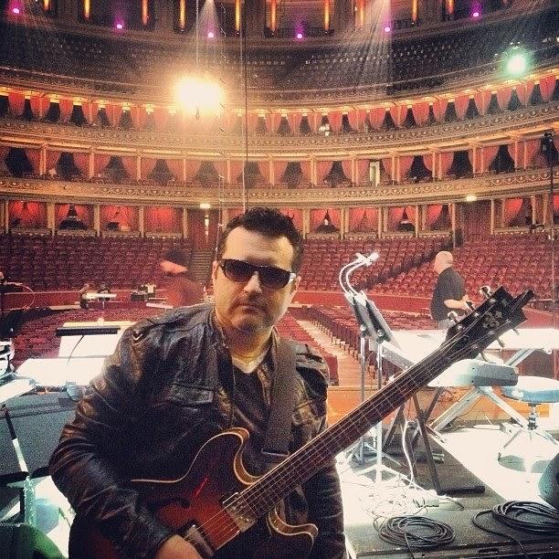 Tony Pulizzi guitar player Tony P guitar Royal Albert Hall London ,  Natalie Cole, TonyPguitar, American Idol, Gladys Knight, Tony Pulizzi Guitar