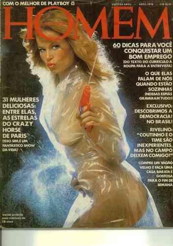 Confira as fotos de Debra Jensen, capa da Revisa Homem de abril de 1978!