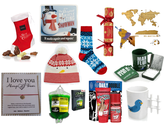 Stocking Fillers & Christmas Stockings - Buy from