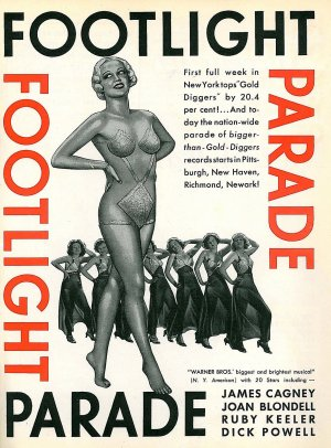 Global Entertainment Comments Film And Dvds Footlight Parade 1933